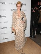Gillian Anderson - Harper's Bazaar Women of the Year Awards in London 10/31/12