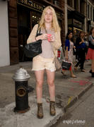 Dakota Fanning Out & About in NYC 9/21/11