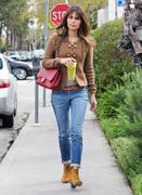 Джордана Брюстер, фото 1244. Jordana Brewster - booty in jeans leaving Lemonade in West Hollywood 02/29/12, foto 1244