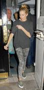 Sienna Miller leaving Haymarket Theatre Royal in London 21-03-2011