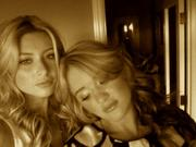 Alyson and Amanda Michalka-Twitter Photos