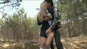 Rape Schoolgirl outdoor