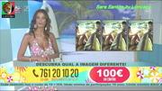 Sara Santos super sensual no programa Beach Party