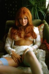 Nude redhead Penthouse