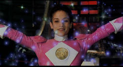 The original pink ranger