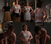 Elisabeth Moss Undies- Mad Men S4 E6 Collage + Caps