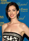 Anne Hathaway attends the screening of the French film
